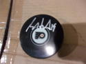 Scott Hartnell Philadelphia Flyers Signed Logo Puck COA