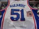 Boban Marjanovic Philadelphia 76ers Signed Custom Jersey JSA