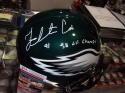 Fletcher Cox Philadelphia Eagles Signed Full Size Replica Helmet JSA Inscription