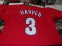 Bryce Harper Philadelphia Phillies Player TShirt Size Large NEW