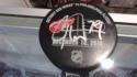 Carter Hart Philadelphia Flyers Signed Game Used NHL Debut Practice Puck COA 12/18/17
