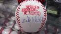 Bake McBride Philadelphia Philles Signed 1980 World Series Baseball COA