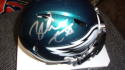 Zach Ertz Philadelphia Eagles Signed  Mini Helmet COA