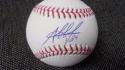 Jesus Aguilar Milwaukee Brewers Signed MLB Baseball COA