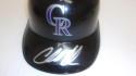 Charlie Blackmon Colorado Rockies Signed Batting Helmet COA