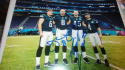 Donnie Jones/Rick Lovato Philadelphia Eagles Signed 8x10 Superbowl Special Teams Photo COA
