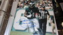 Kenyon Barner Philadelphia Eagles Signed 8x10  Photo COA