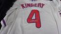 Scott Kingery Philadelphia Phillies Signed Replica Cream Jersey COA