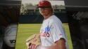 JD Hammer Philadelphia Phillies Signed 8x10 Photo COA