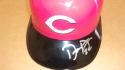 Derek Dietrich Cincinnati Reds Signed Batting Helmet COA
