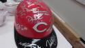 2019 Cincinnati Reds Team Signed FS Helmet COA
