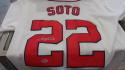 Juan Soto Washington Nationals Signed Replica Home Jersey COA Beckett