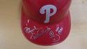 Phillie Phanatic Philadelphia Phillies Signed Batting Helmet COA Dave Raymond