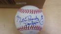 Phillie Phanatic Phillies  signed OLB Baseball COA Inscription Dave Raymond
