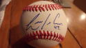 Luis Avilan Phillies/Mets/Braves Signed OLB Baseball COA