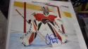 Carter Hart Philadelphia Flyers Signed 8x10 Photo COA