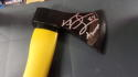 Jeremiah Trotter Philadelphia Eagles Signed  AXE  JSA Inscription