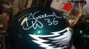 Brian Westbrook Philadelphia Eagles Signed Full Size Replica Helmet JSA