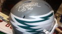 Brian Westbrook Philadelphia Eagles Signed Full Size Replica AMP Helmet JSA