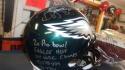 Brian Westbrook Philadelphia Eagles Signed Full Size Replica STAT Helmet JSA