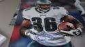 Brian Westbrook Philadelphia Eagles Signed 16x20 Photo COA JSA