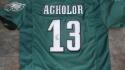 Nelson Agholor Philadelphia Eagles  signed replica Jersey JSA