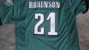 Patrick Robinson Philadelphia Eagles  signed replica Jersey COA