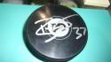 Brian Elliott Philadelphia Flyers Signed Logo Puck COA