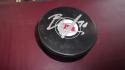 Jesper Boqvist New Jersey Devils signed logo  Puck COA