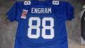 Evan Engram New York Giants Signed Custom Jersey JSA