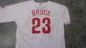 Jay Bruce Philadelphia Phillies Signed Home Jersey COA