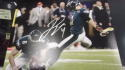 Jake Elliott Philadelphia Eagles Signed 8x10 Superbowl photo COA