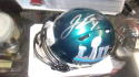 Jake Elliott Philadelphia Eagles Signed Superbowl LII Mini Helmet COA