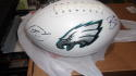 Trey Burton Philadelphia Eagles Signed  Logo Football COA  PHILLY SPECIAL DRAWING!!
