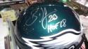 Brian Dawkins Philadelphia Eagles Signed Full Size Replica Helmet JSA HOF