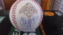 Chris Coste Philadelphia Phillies Signed 2008 World Series WS Baseball COA