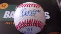 Chris Coste Philadelphia Phillies Signed 2008 OLB Baseball COA Inscription