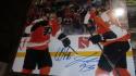 Claude Giroux/Jake Voracek Philadelphia Flyers Signed 11x14 photo COA