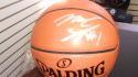 Mike Scott Philadelphia 76ers signed Full Size Basketball COA
