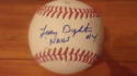 Lenny Dykstra Philadelphia Phillies/New York Mets  Signed OLB Baseball COA Inscripton