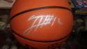 Tobias Harris Philadelphia 76ers signed Full Size Basketball JSA