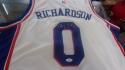 Josh Richardson Philadelphia 76ers Signed Replica white Jersey JSA