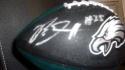 Boston Scott Philadelphia Eagles Signed Mini Logo Football COA