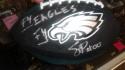 SWOOP Philadelphia Eagles Mascot Signed Replica Mini Football COA
