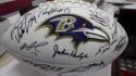 2019 Baltimore Ravens Team Signed  Logo Football COA