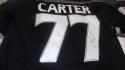 Jeff Carter Los Angeles Kings Signed Replica Jersey COA