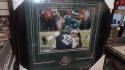 Chris Long Philadelphia Eagles Signed Superbowl 8x10  framed photo COA