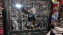 Swoop Philadelphia Eagles Signed Superbowl Parade 16x20  framed photo COA Inscription