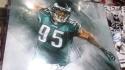 Mychal Kendricks Philadelphia Eagles Signed 11x14 photo COA