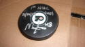 Morgan Frost Signed Philadelphia Flyers Logo Puck COA  Inscription